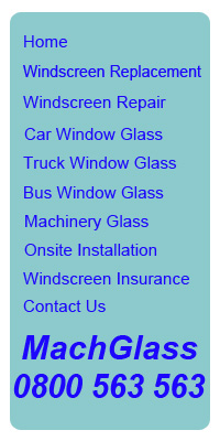 Car Glass, Truck Glass, Bus Glass & Machinery Glass repair